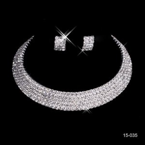 Gorgeous Wedding Bridal Party Formal Jewellery Set