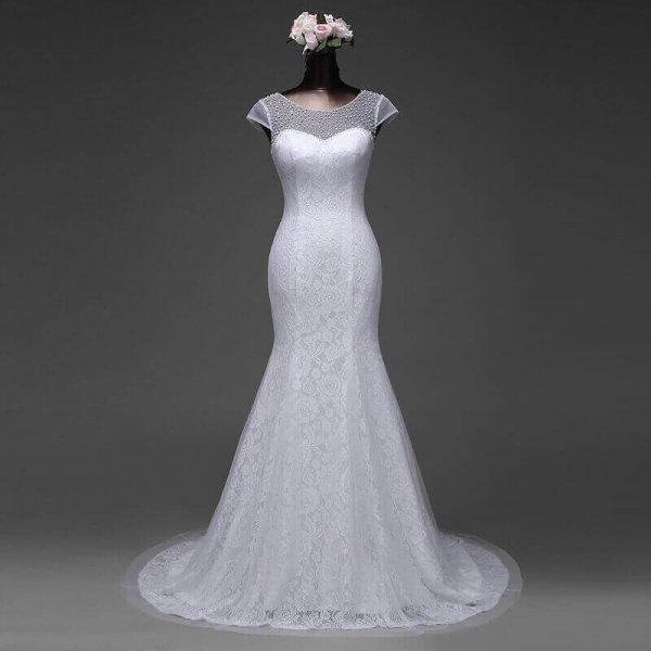 Beaded Top Mermaid Wedding Gown For Sale In Lagos