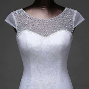 Beaded Top Mermaid Wedding Gown For Sale In Lagos