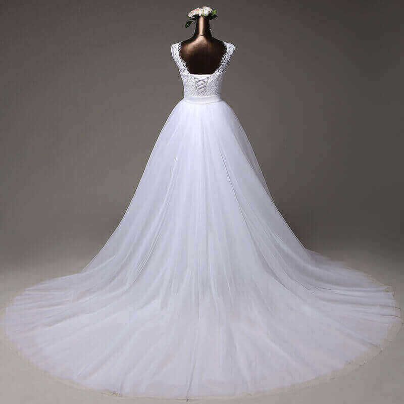 Wedding Dresses With Detachable Tail: DETACHABLE TAIL MERMAID WEDDING GOWN