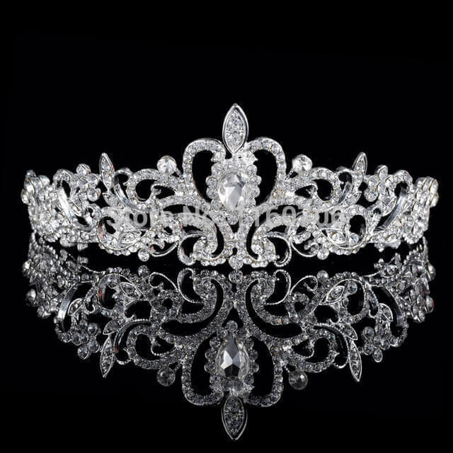 Princess Crystal Bridal Tiara