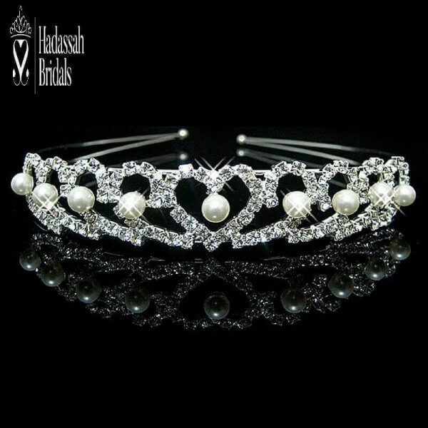 Pearl Tiara For Little Bride