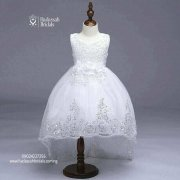 High Low Trendy Little Bride's Gown In Lagos