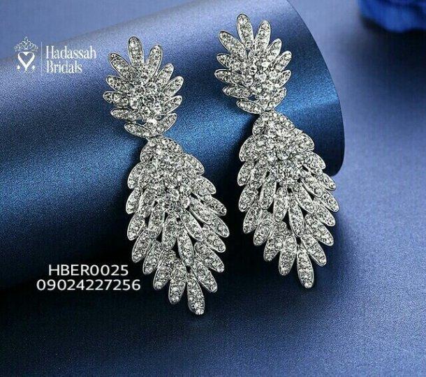 Vintage Double Drop Bridal Earrings